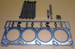 Esta es la junta de fábrica MLS cabeza. Las aberturas de la junta tiene un sellador azul que se incorpora a la junta de sellado para fines mejores. La junta de fábrica se suministra con nuevos par-a-rendimiento pernos..