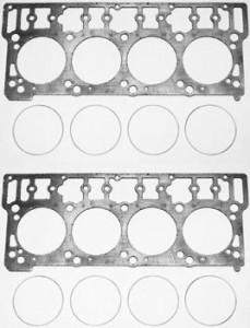 Una gran mejora al instalar juntas de cabeza en los 6.0 es el uso de juntas de la Hypermax. Estas juntas están hechas del mismo material de grafito como el motor 7.3L junto con una compresión inoxidable 'fuego' anillo.